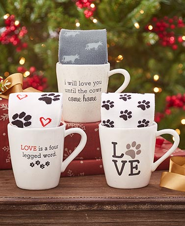 Mug and Sock Gift Sets