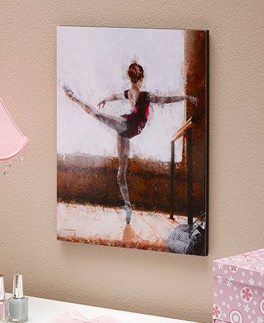Personalized Ballet Wall Plaque
