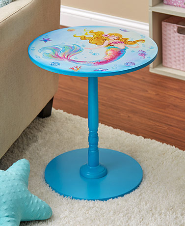 Unicorn or Mermaid Accent Tables