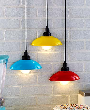 Retro LED Half Lamps