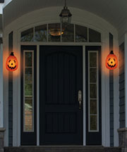Holiday Porch Light Covers