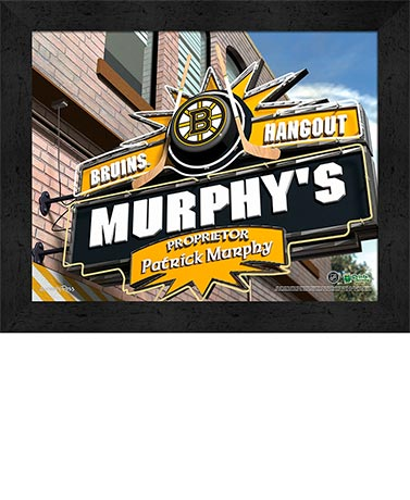 Personalized NHL Pub Signs