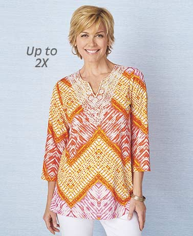 Printed Ombre Tunic