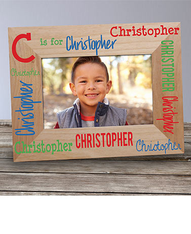 Personalized Kids' Photo Frame