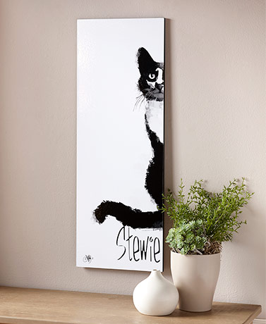 My Cat Personalized Wall Art