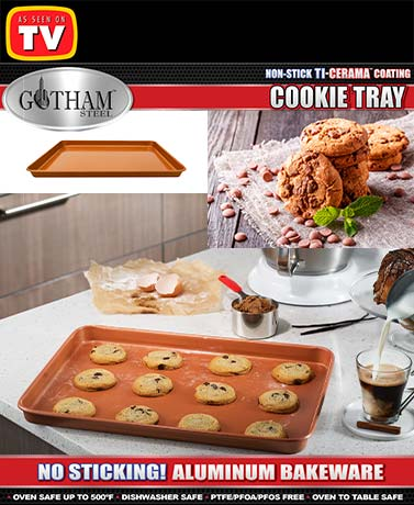 Gotham Steel™ Cookie Tray