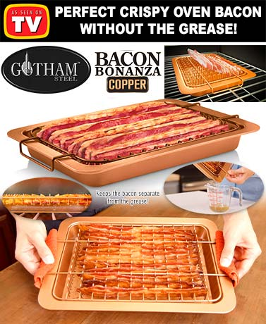 Gotham Steel™ Bacon Bonanza