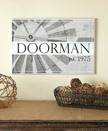 Personalized Farmhouse Wall Plaques