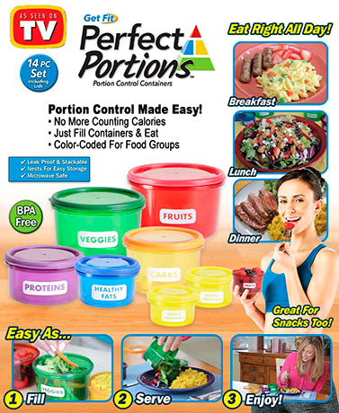 Perfect Portions 14-Pc. Container Set