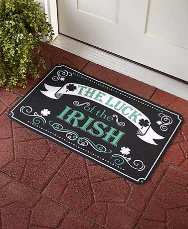 IndoorOutdoor Luck of the Irish Doormat