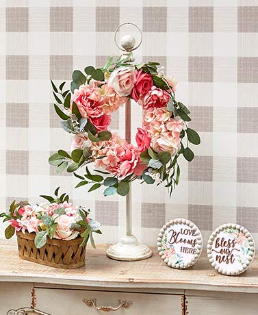 Vintage-Inspired Faux Cottage Roses