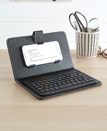 PhoneTablet Keyboard with Cover