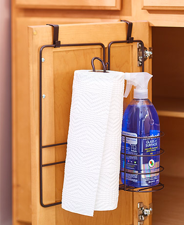 Over-the-Cabinet Door Organizers