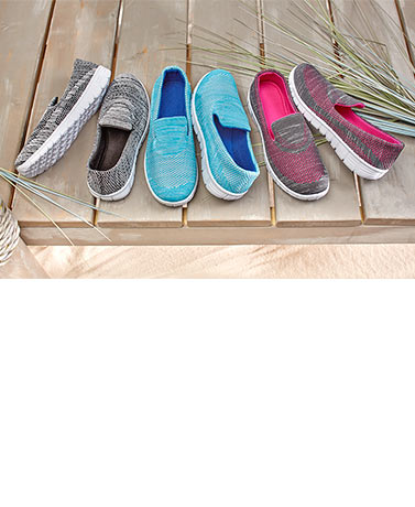 Women's Slip-On Memory Foam Sneakers