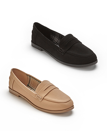Women's Memory Foam Penny Loafers