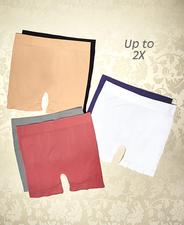Women's Sets of 2 Slip Shorts