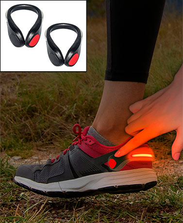 LED Clip-On Running Shoe Lights