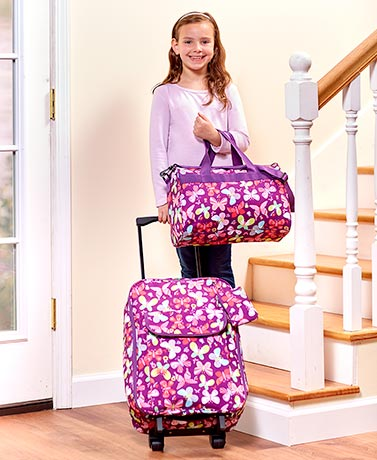 Kids' Going to Grandma's 3-Pc. Luggage Sets