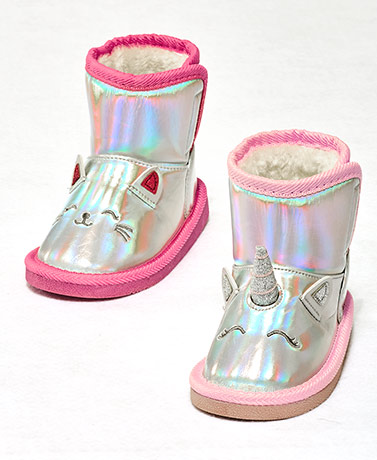Toddler Girls' Critter Boots