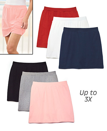 Women's Sets of 3 Scooter Skirts