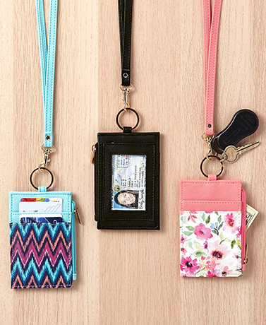 Convertible Lanyard IDCard Wallets