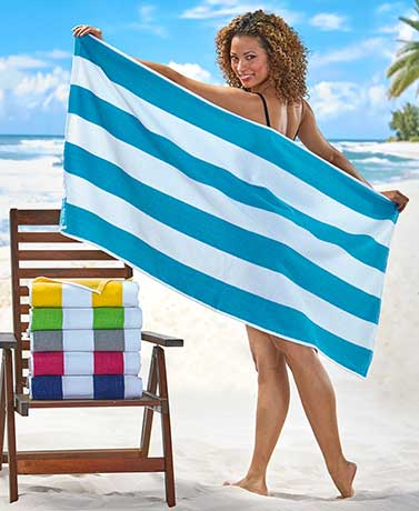 Cabana Stripe Beach Towels