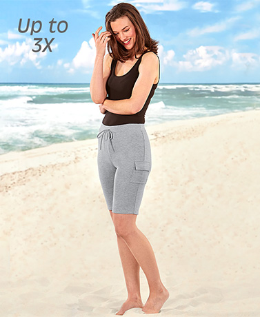 Sets of 2 Cargo Bermuda Shorts