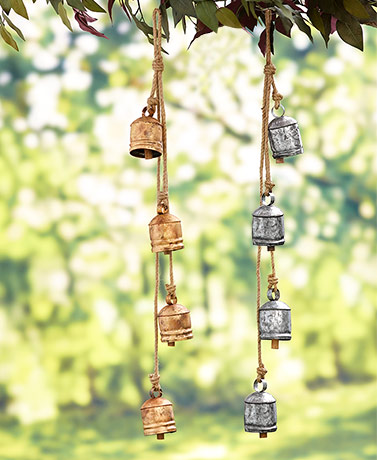 Handcrafted Hanging Bell Clusters