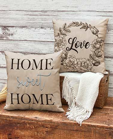 Country Home Decorative Pillows