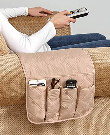 Quilted Arm Rest Organizers