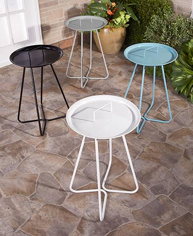 Metal Anywhere Accent Tables