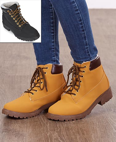 Women's NuBuck Work Boots
