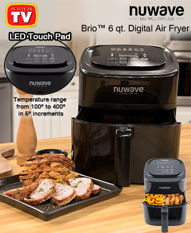 Brio™ 6-Qt. Digital Air Fryer