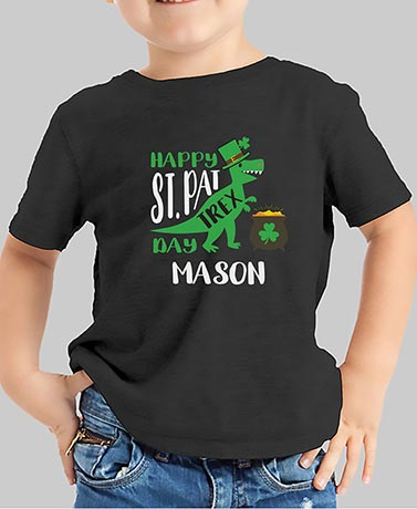 St. Pat Trex Day Personalized T-Shirts