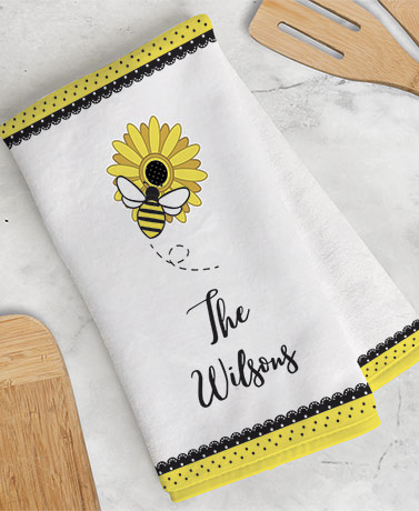 Personalized Themed Kitchen Towels