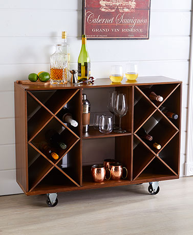 Industrial Rolling Storage Buffet Carts