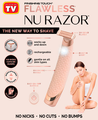 Finishing Touch® Flawless® NuRazor™