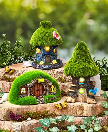 Solar Fairy Cottages