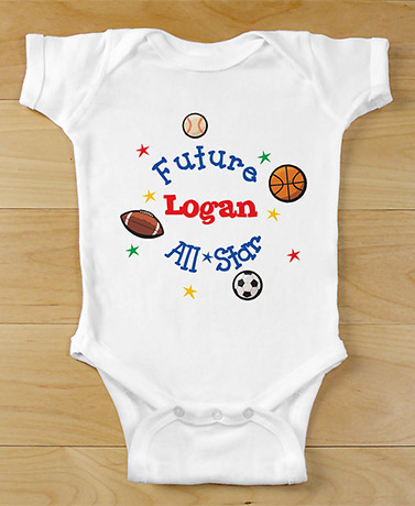 Personalized Future All-Star Bodysuit