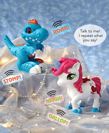 Talkback Interactive Unicorn or Dino
