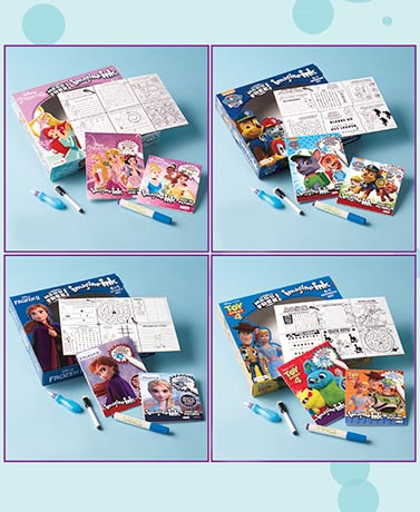 Imagine Ink 4-in-1 Activity Boxes