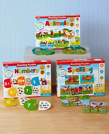 Educational Matching Puzzles