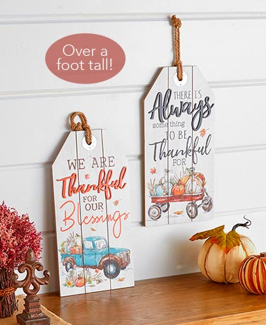 Harvest Tag Wall Hangings