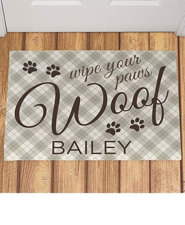 Personalized Dog Placemat or Food Bowl