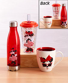 Licensed Minnie Mouse Drinkware Collection