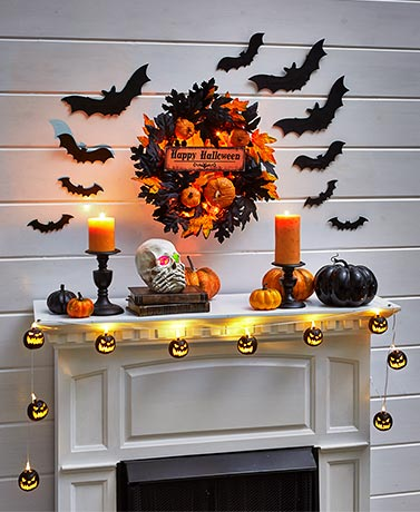 Halloween Mantel Collection