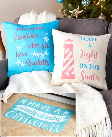 Coastal Christmas IndoorOutdoor Home Accents