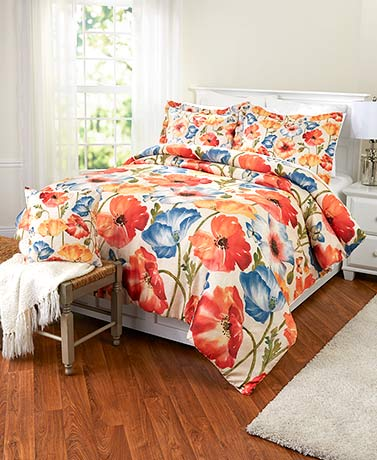 Watercolor Floral Bedroom Collection