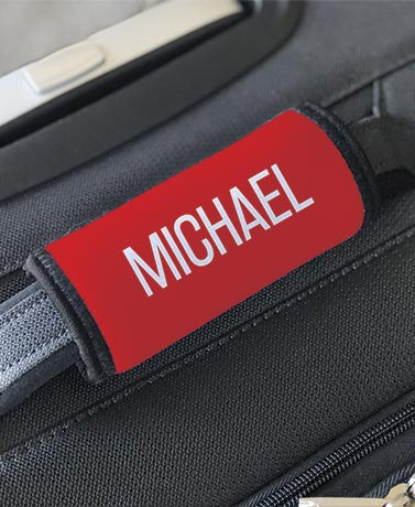 Personalized Luggage Grabbers